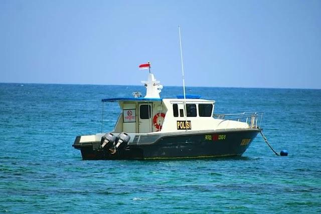 Polsek Sekotong Gandeng Sat Polair Dalam Antisipasi Jalur Laut.