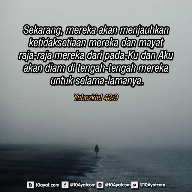 Yehezkiel 43:9