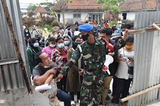 Rutin, Rumkital Komang  Makes Belawan Langsungkan Vaksinasi Covid - 19