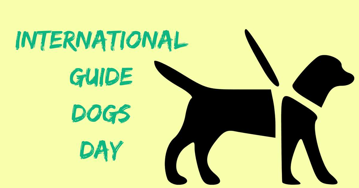 International Guide Dog Day Wishes Images download
