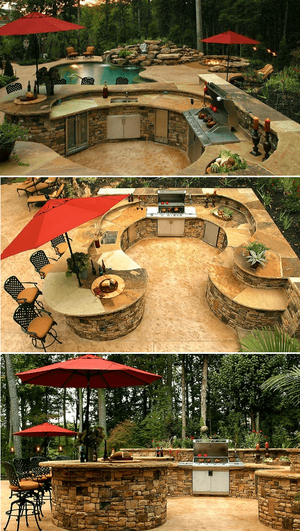 57 Outdoor Kitchen Design Ideas