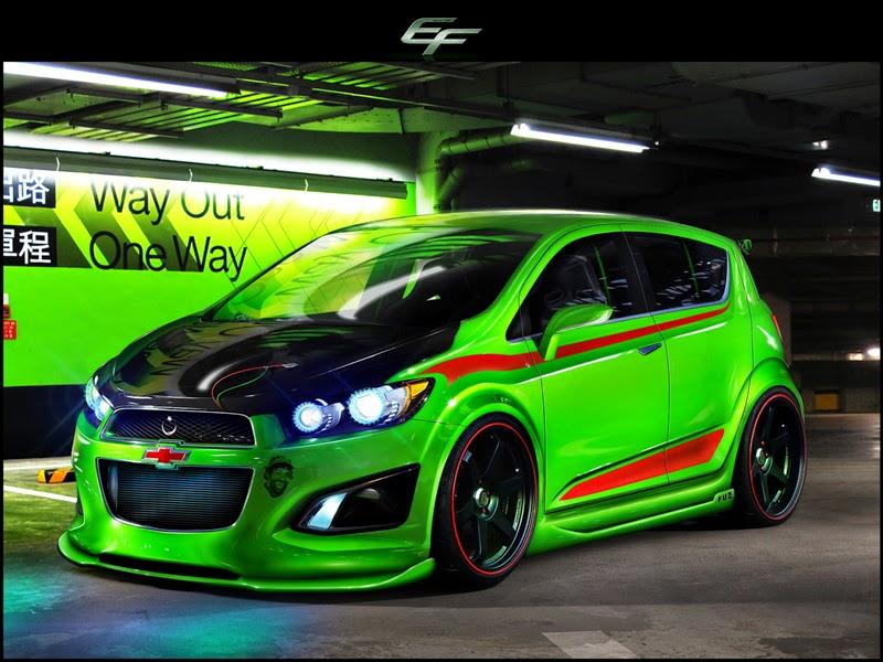 Galeri Foto Modifikasi Mobil Chevrolet Aveo Keren Terbaru