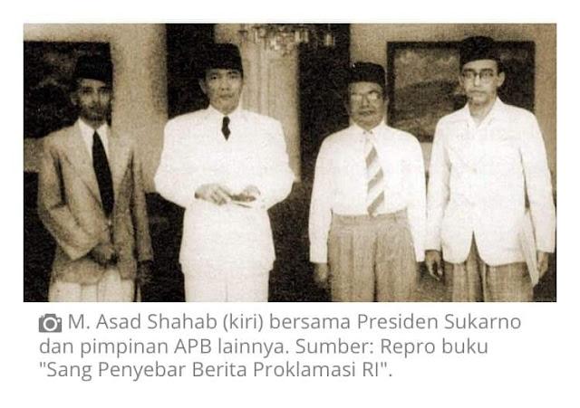 Muhammad Asad Shahab, yang lahir di Jakarta, 23 September 1910