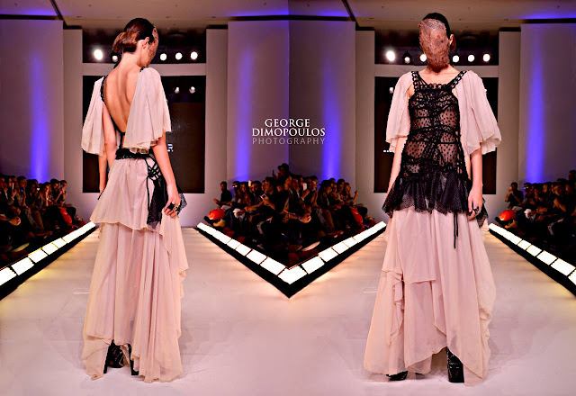 CELEBRITY SKIN Haute Couture by GEORGE DIMOPOULOS PHOTOGRAPHY at the AXDW FASHION WEEK in ATHENS