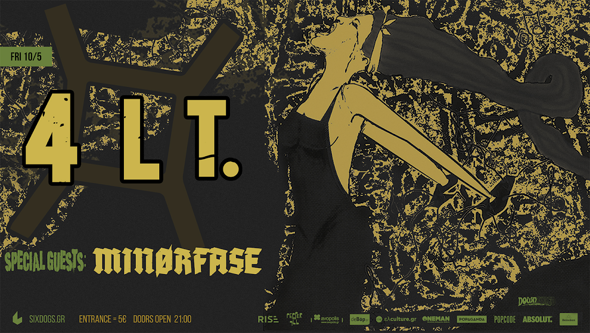 4LT. & Minorfase live [10.May.'19] Six d.o.g.s