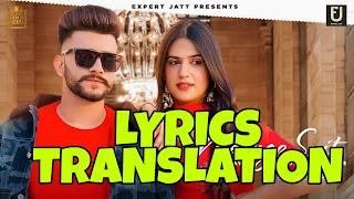 Mehnge Suit Lyrics in English | With Translation | – Nawab ft. Gurlez Akhtar