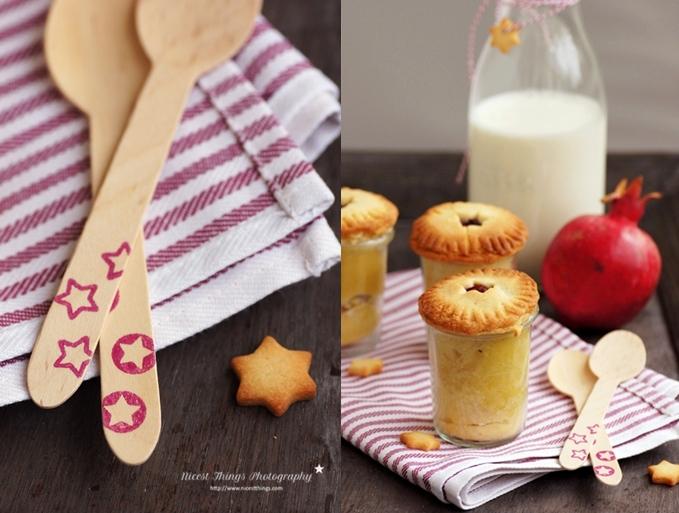 Granatapfel Pies im Weckglas