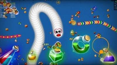 worms zone io game terpopuler terbaik android