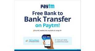 How to transfer money from Paytm to user on phonepe