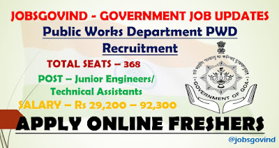 PWD Recruitment 2021