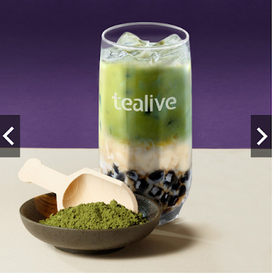 Tealive Boba Tea Perisa Green Tea