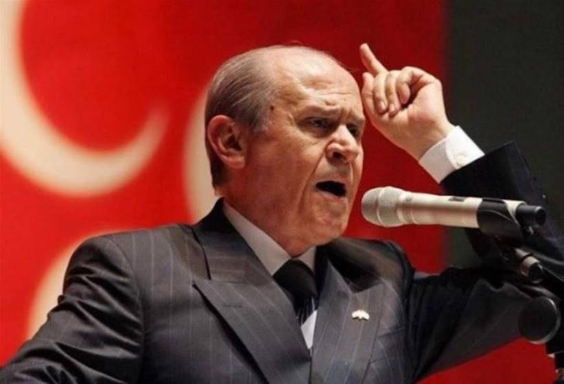 Μπαχτσελί: «Οι Έλληνες έχουν διαπράξει γενοκτονία εις βάρος μας»