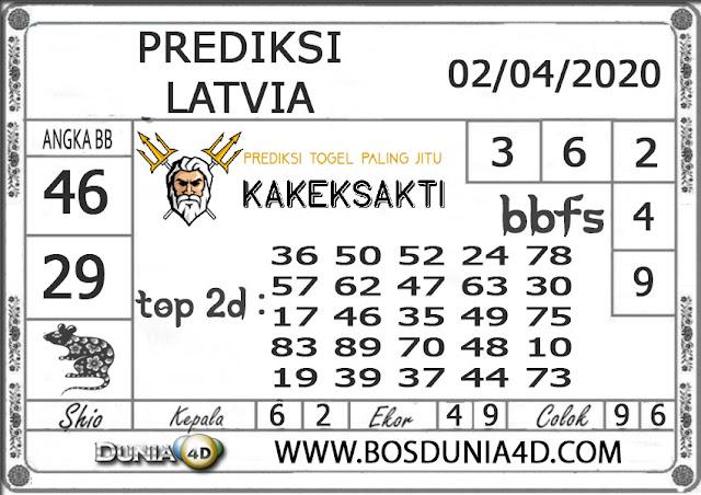 Prediksi Togel LATVIA DUNIA4D 02 APRIL 2020