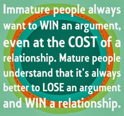 Life Quotes And Sayings Immature People Always Want To Win An