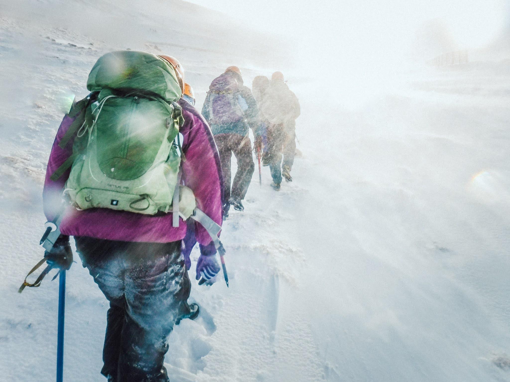 Winter Mountain Skills Course in the Cairngorms liquidgrain liquid grain