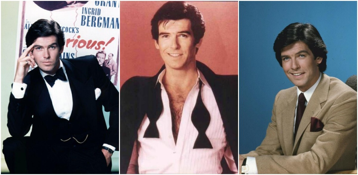 26 Publicity Photos of a Young and Handsome Pierce Brosnan in 'Remington Steele'