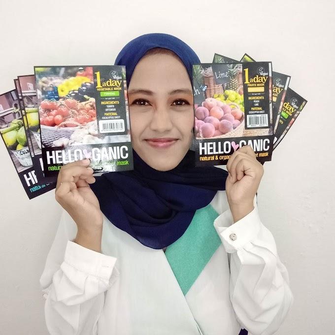Helloganic, Sheet Mask Vegan Korea