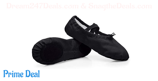 50%OFF Ballet Dance Shoes Split Leather Sole Professional Ballet Slippers Flats with Gymnastics Ballet Shoes for Girls Women Kid's and Adult's