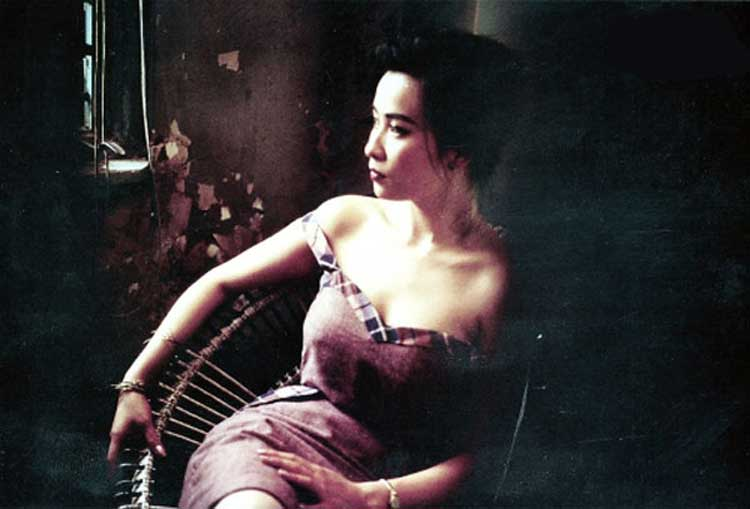 Carina Lau lounges as Miriam in Wong Kar-Wai's Days of Being Wild.