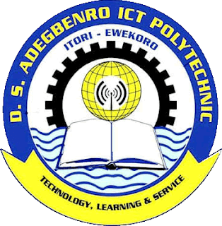 DS Adegbenro ICT Poly Part-Time Admission Form 2020/2021 | ND & HND