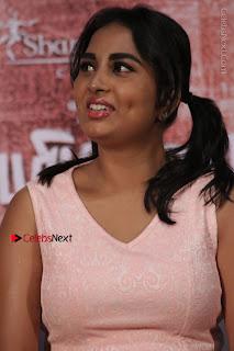 Actress Srushti Dange Stills in Short Dress at Mupparimanam Press Meet  0011.jpg
