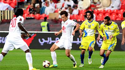 اهداف مباراة الظفرة والجزيرة اليوم الخميس 29 سبتمبر 2016 وملخص كورة يوتيوب نتيجة مباراة الظفرة اليوم في كأس الخليج العربي