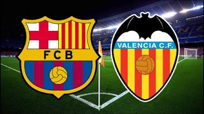 موعد مباراة برشلونة وفالنسيا ضمن مباريات كأس ملك إسبانيا 2019