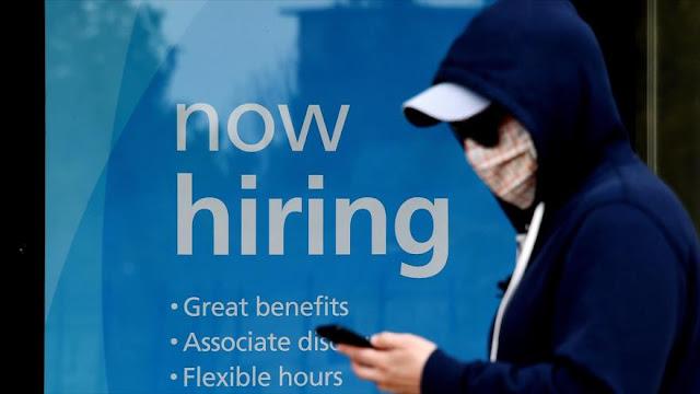 Incrementan peticiones de ayuda por desempleo en EEUU