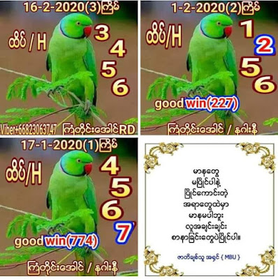 Thailand Lottery Game 3up Facebook Timeline Blogspot 16 February 2020