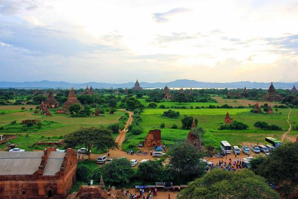 Templo recomendado para ver anochecer sobre Bagan