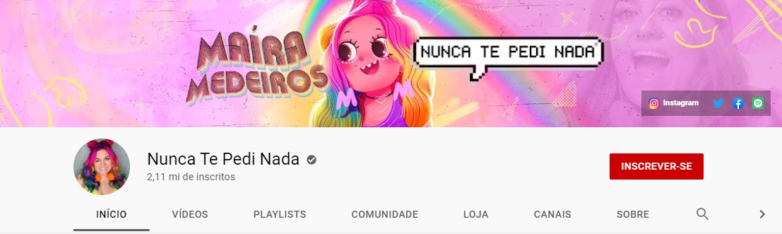 Maíra Medeiros | Youtube