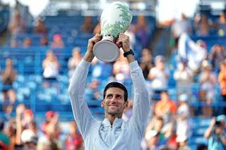 TENIS (Masters 1000 Cincinnati masculino 2018) - Novak Djokovic se desquita del único Masters que le faltaba por ganar