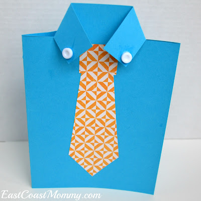tie card for fathers day