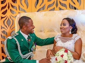Good Looking Lawyer Tied The Knot With Her Soldier Fiance In New  Style (photos)