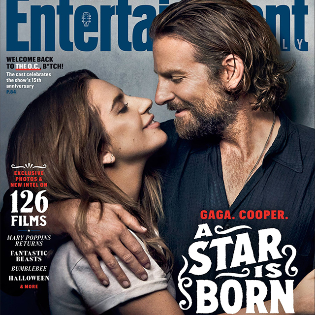 Lady Gaga and Bradley Cooper Cover Entertaiment Weekly