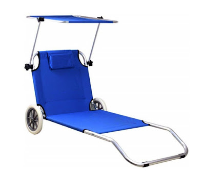anwb strandstoel met wielen