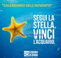 Calendario dell'Avvento 2020 Acquario di Genova : vinci gratis ogni giorno biglietti e altri premi