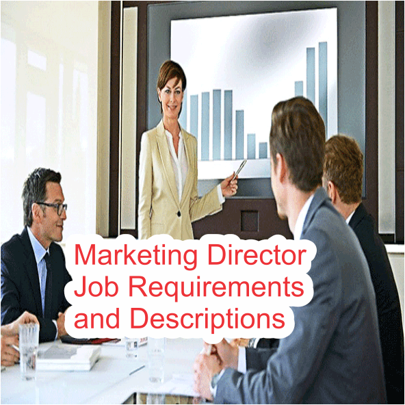 Marketing Director Job Requirements and Descriptions