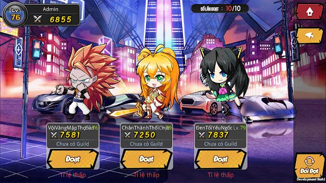 Vũ Trụ Manga là tựa game có hoạt động nhiều, cày thả ga 10