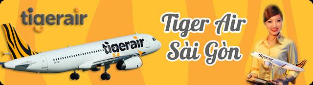 Đại lý Tiger Air Sài Gòn