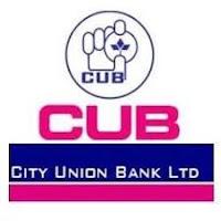 सिटी यूनियन बैंक लिमिटेड - CUB भर्ती 2021 - अंतिम तिथि 07 मई