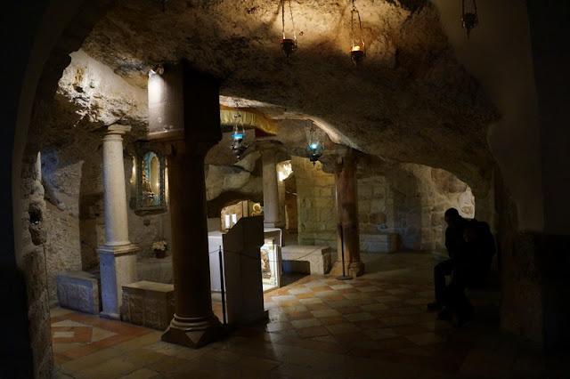 Gruta do Leite (Milk Grotto Chapel) em Belém