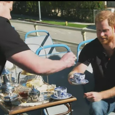 Prince Harry and James Corden are the Fresh Princes of Bel Air
