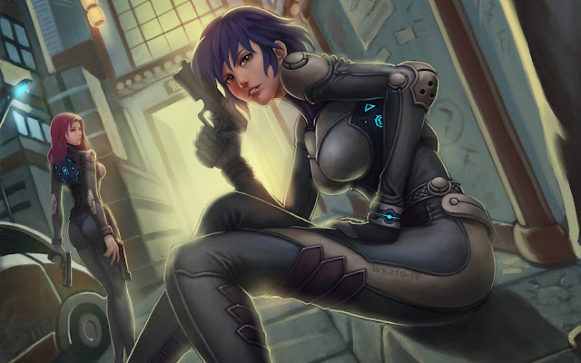 Ghost In The Shell (1995) Subtitle Indonesia