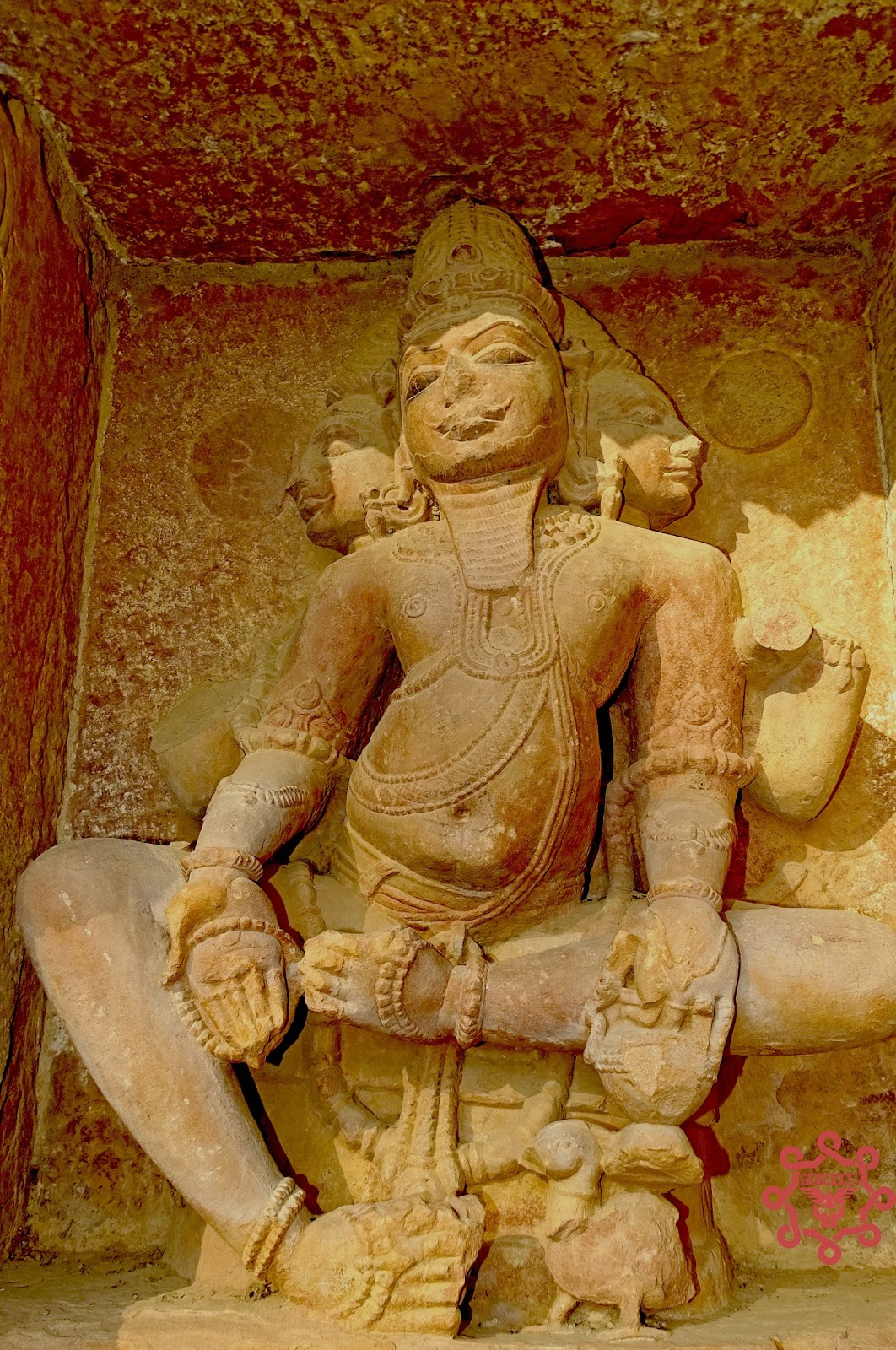 Beautiful Rock Carving Idol Of Deity Menal