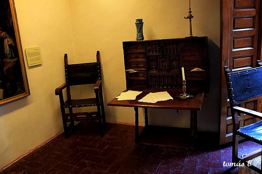FOTOGRAFIAS: Interior de la Casa Museo Cervantes, Valladolid.