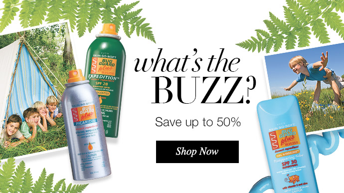 What's The BUZZ? Save up to 50% Off Bug Guard