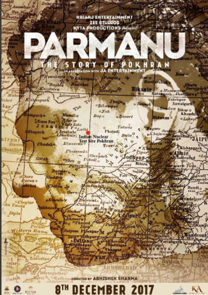 John Abraham Reveals The First Look Of His Next Film 'Parmanu: The Story of Pokhran'