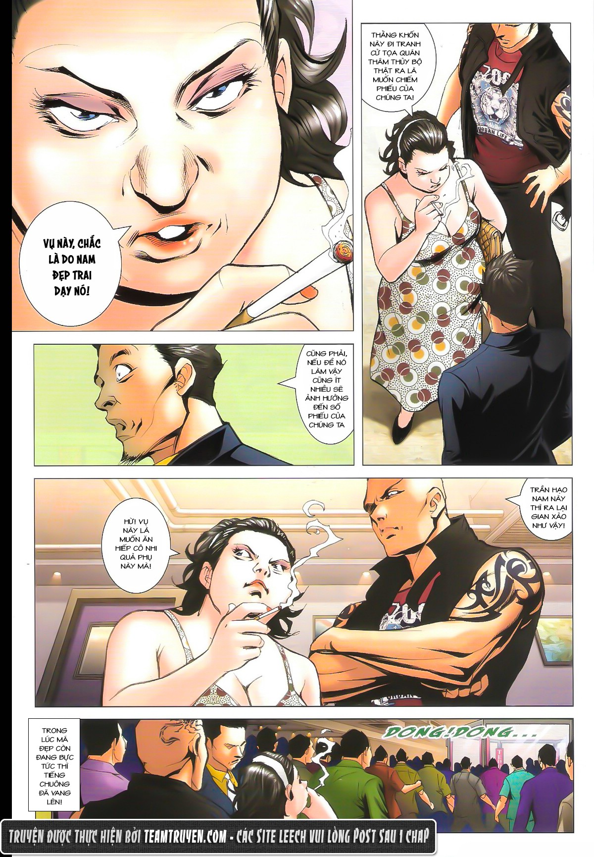 Người Trong Giang Hồ chapter 1627: sợ vỡ mật trang 6
