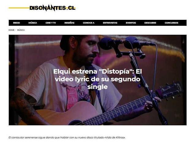 DISTOPÍA EN DISONANTES.CL